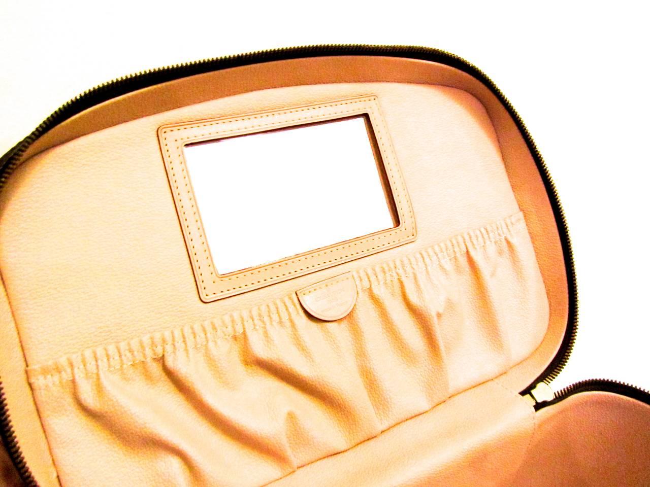 Louis Vuitton Train Case / Traveling Makeup Bag 2