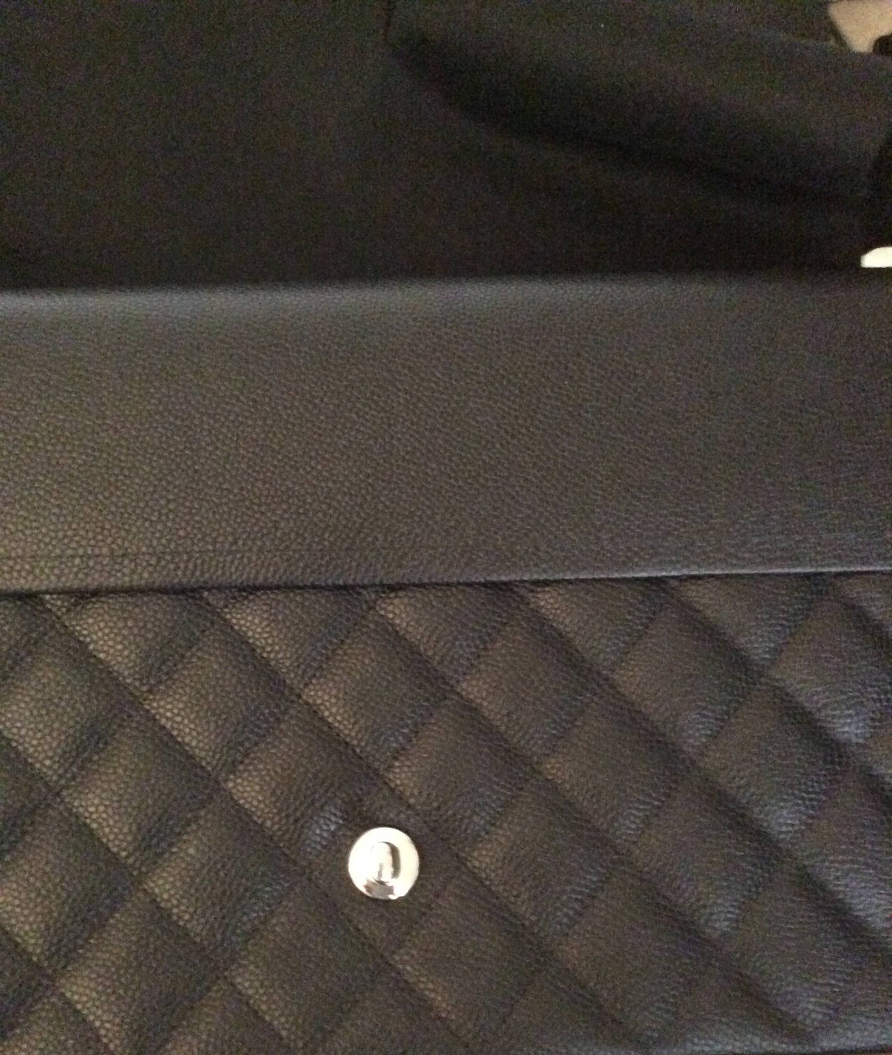 New Chanel Classic Double Flap Maxi Bag - Caviar 5