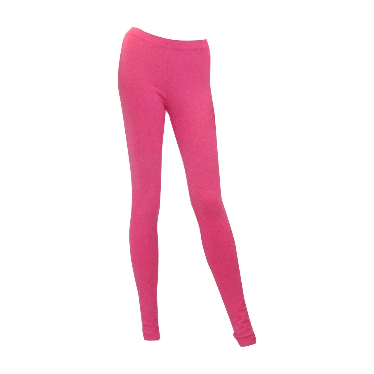 Chanel Pink Casual Pants / Leggings For Sale