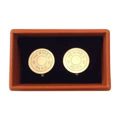 Hermes Earrings Classic Brushed  Silver/Tone Clips