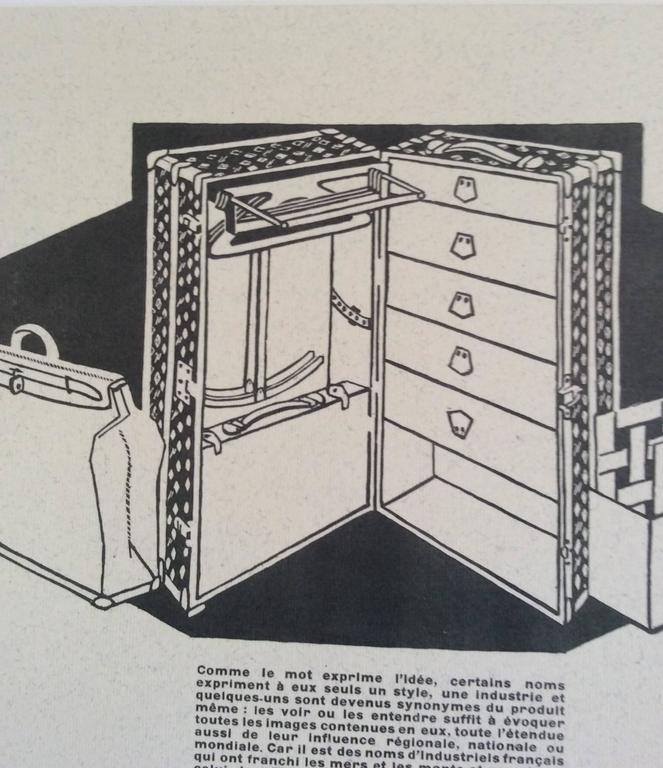 Louis Vuitton Vintage Ad Print - 1930's 3