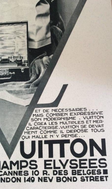 Louis Vuitton  Vintage Ad Print - 1930's 4