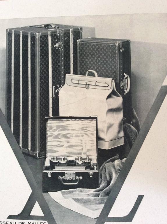 Louis Vuitton  Vintage Ad Print - 1930's 5