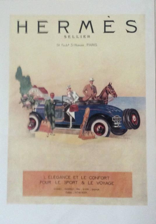 Hermes Ad Print - 1930's 2