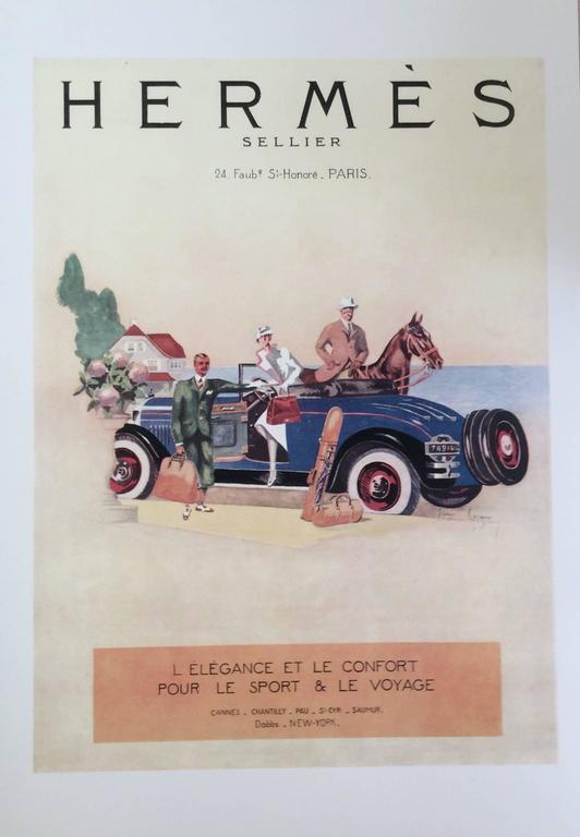 Hermes Ad Print - 1930's 5