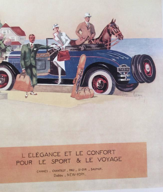 Hermes Ad Print - 1930's 4