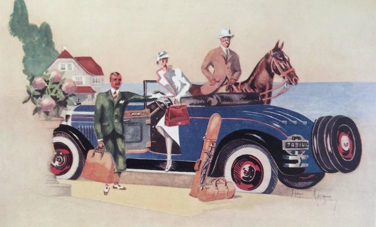 Hermes Ad Print - 1930's 3