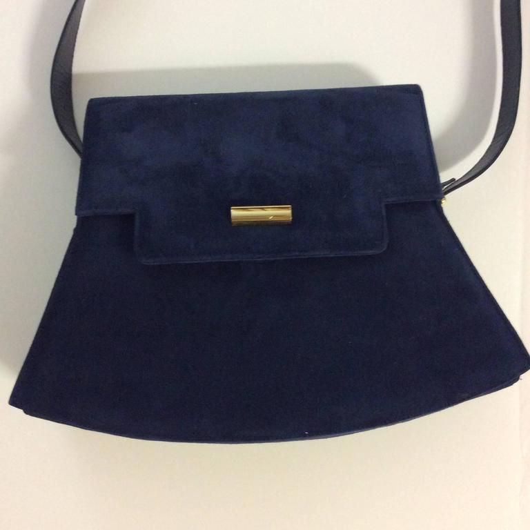 Women's Charles Jourdan New Blue Purse / Handbag For Sale