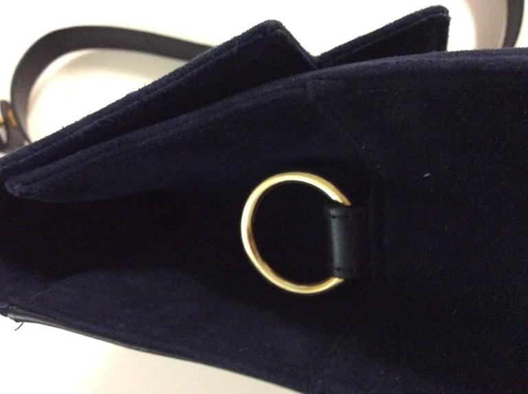 Charles Jourdan New Blue Purse / Handbag For Sale 2