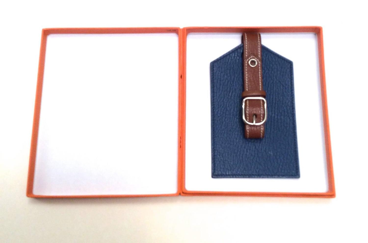 hermes bag tag