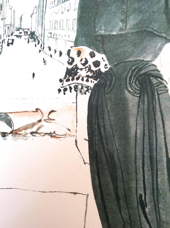Vintage Nina Ricci Ad Print - 1960's - Rare For Sale 1