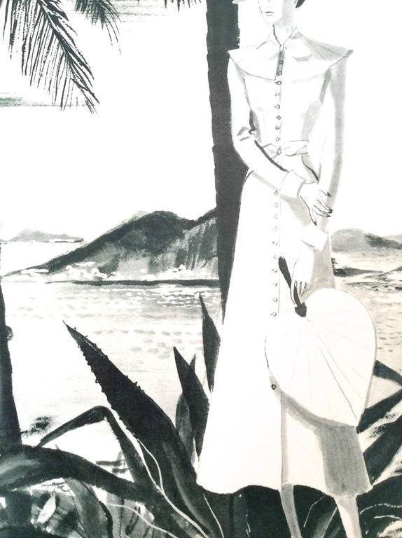 Chanel Vintage Ad Print - 1930's Rare 5