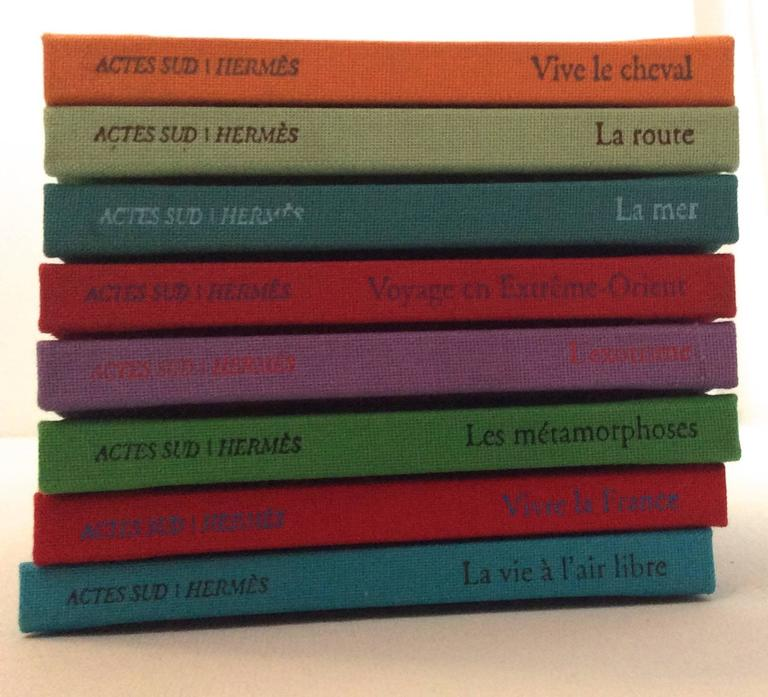 Black Hermes Book Set - Philippe Dumas - Rare For Sale