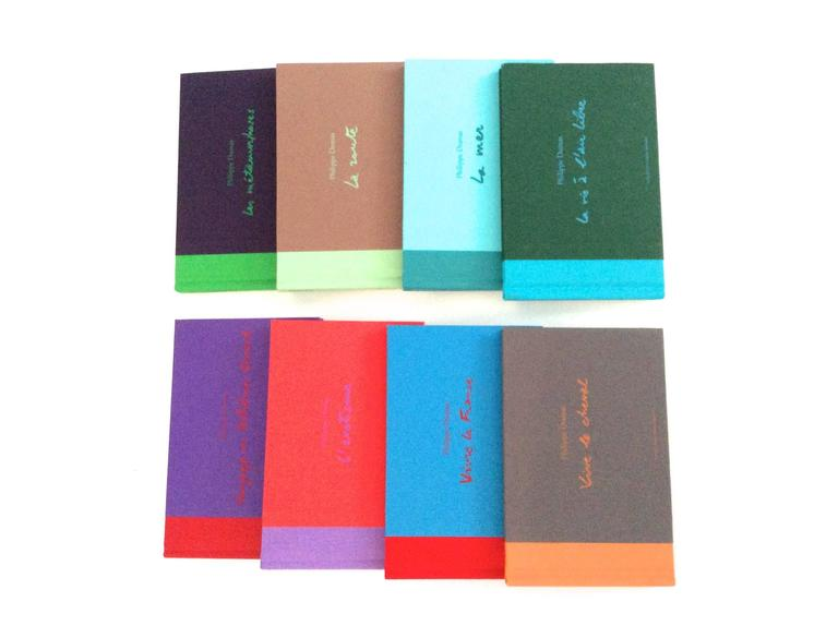 Hermes Book Set - Philippe Dumas - Rare In New never worn Condition For Sale In Boca Raton, FL