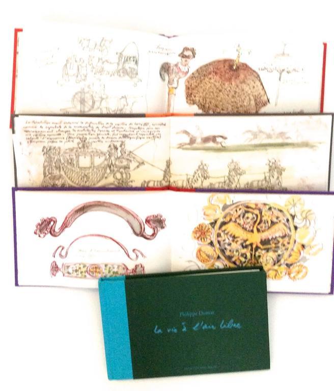 Women's or Men's Hermes Book Set - Philippe Dumas - Rare For Sale