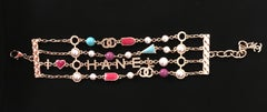 Chanel Pearl and Multi Bracelet