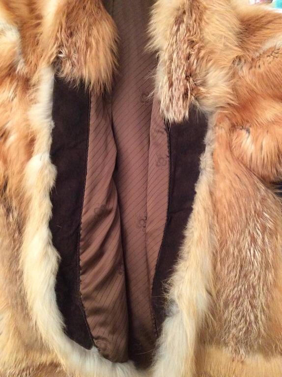Beautiful Red Fox Jacket - Size Large 9