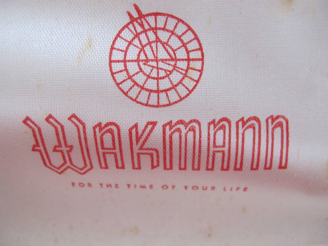 """Wakmann Stainless Steel Alarm """"Incabloc"""" Wristwatch 7"""