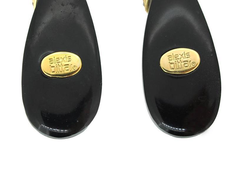 Alexis Bittar Double Drop Lucite Earrings 5