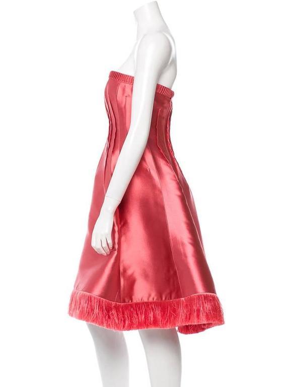 Chado Ralph Rucci Pink Silk Dress 2