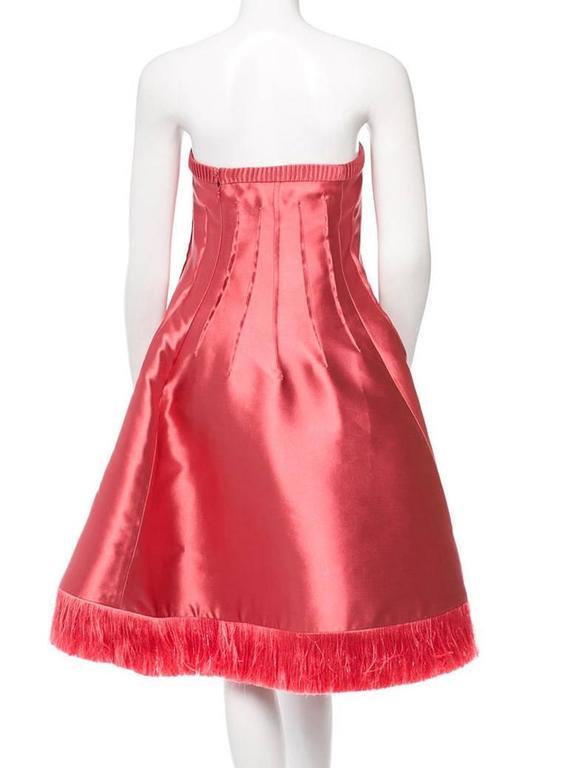 Chado Ralph Rucci Pink Silk Dress 4