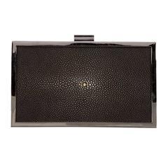 Calvin Klein Collection Stingray Box Clutch