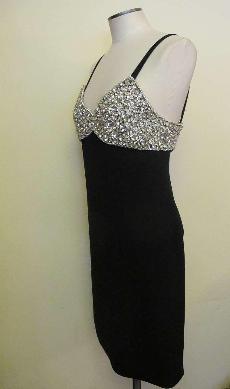 1960's Marie McCarthy for Larry Aldrich Fabulous Rhinestone Dress 5
