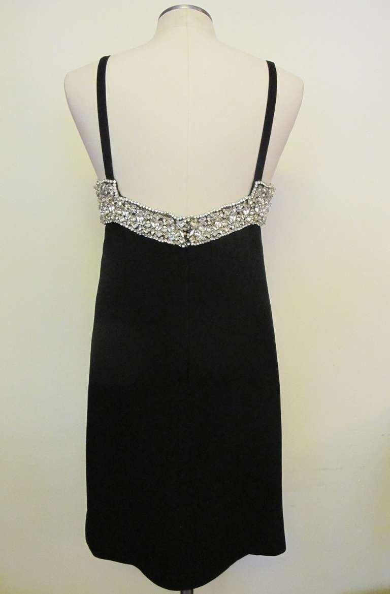 1960's Marie McCarthy for Larry Aldrich Fabulous Rhinestone Dress 6