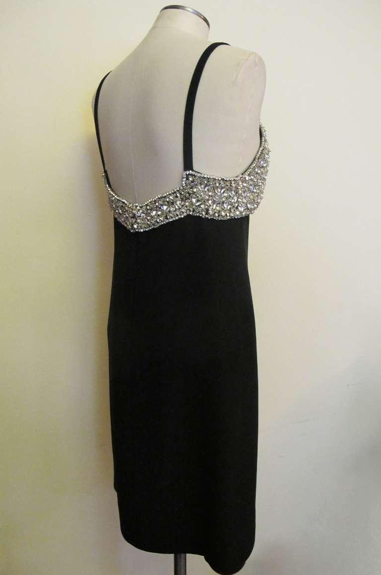 1960's Marie McCarthy for Larry Aldrich Fabulous Rhinestone Dress 8
