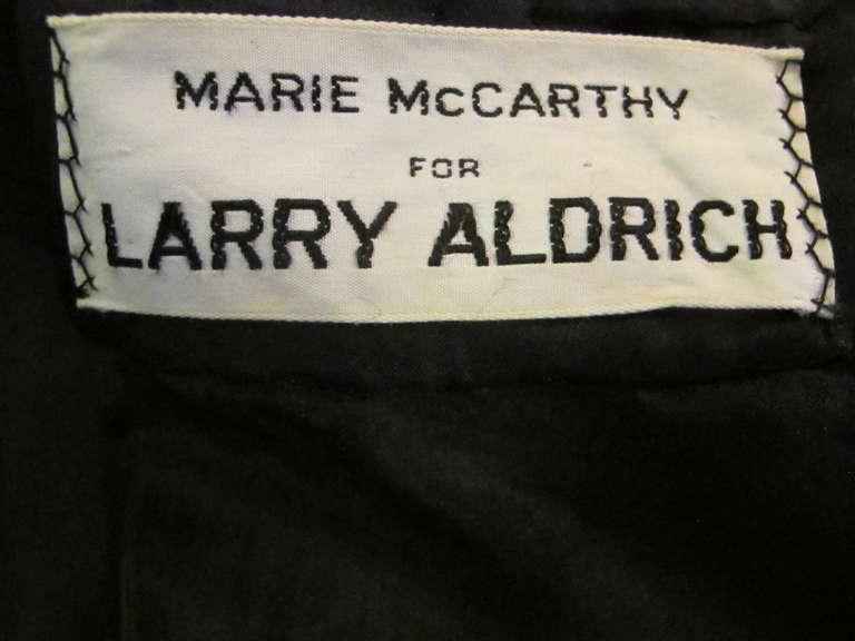 1960's Marie McCarthy for Larry Aldrich Fabulous Rhinestone Dress 9