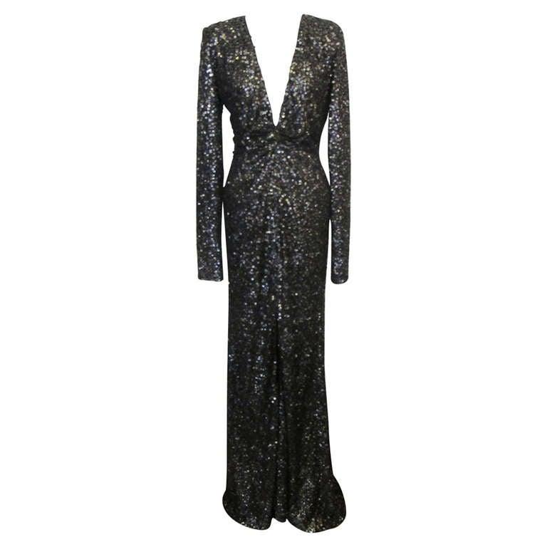 Oday Shakar Glamorous Hollywood Evening Gown 1