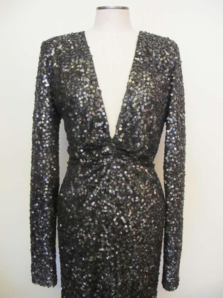 Oday Shakar Glamorous Hollywood Evening Gown 2