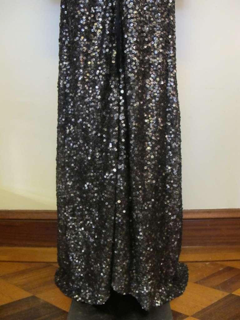 Oday Shakar Glamorous Hollywood Evening Gown 4