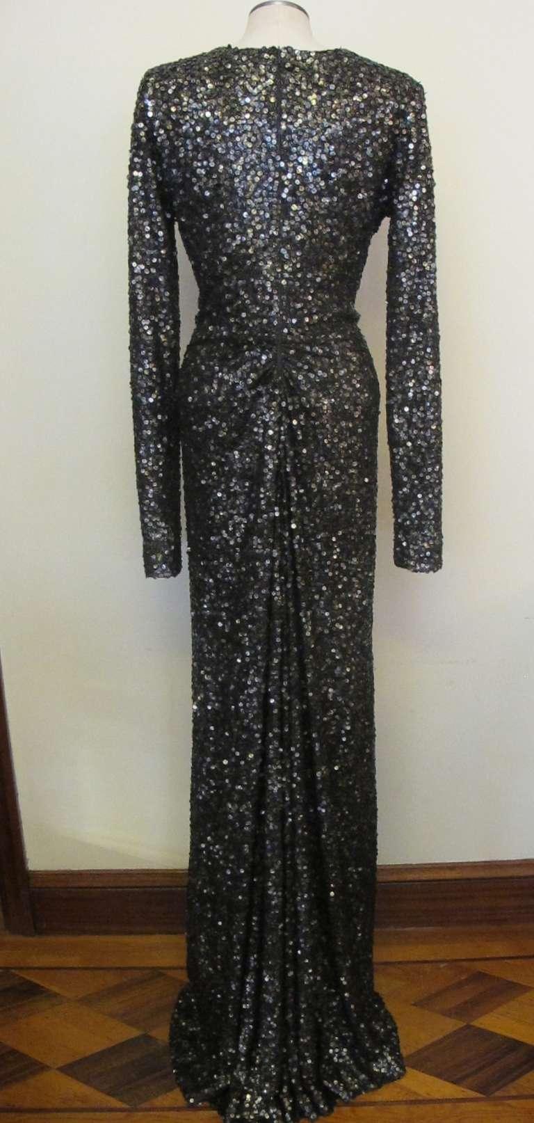 Oday Shakar Glamorous Hollywood Evening Gown 5