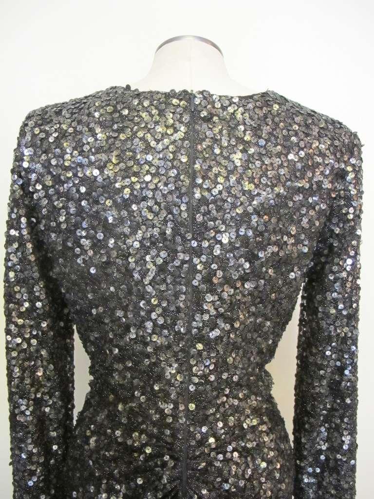 Oday Shakar Glamorous Hollywood Evening Gown 7