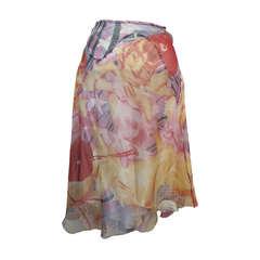 """Alexander McQueen """"Blond Girl"""" Multi-Colored Skirt"""