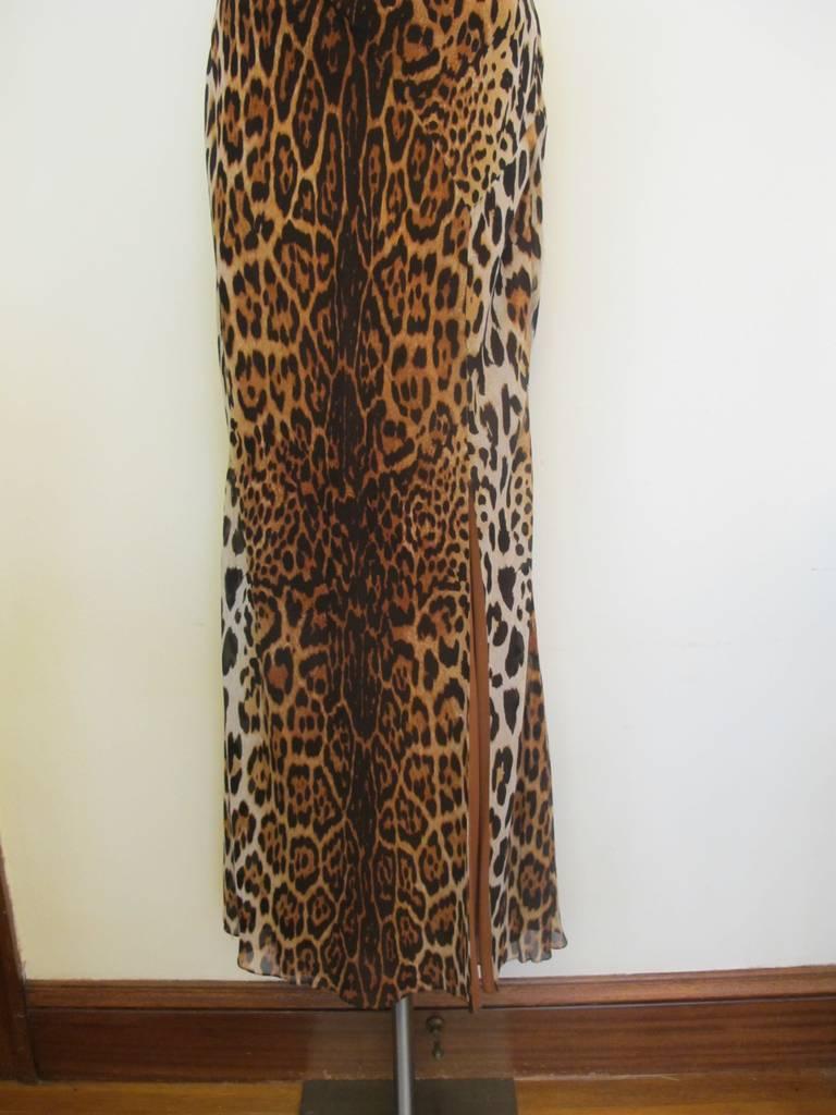 "Christian Dior ""Mitzah"" Winter 2004 Leopard Gown 3"