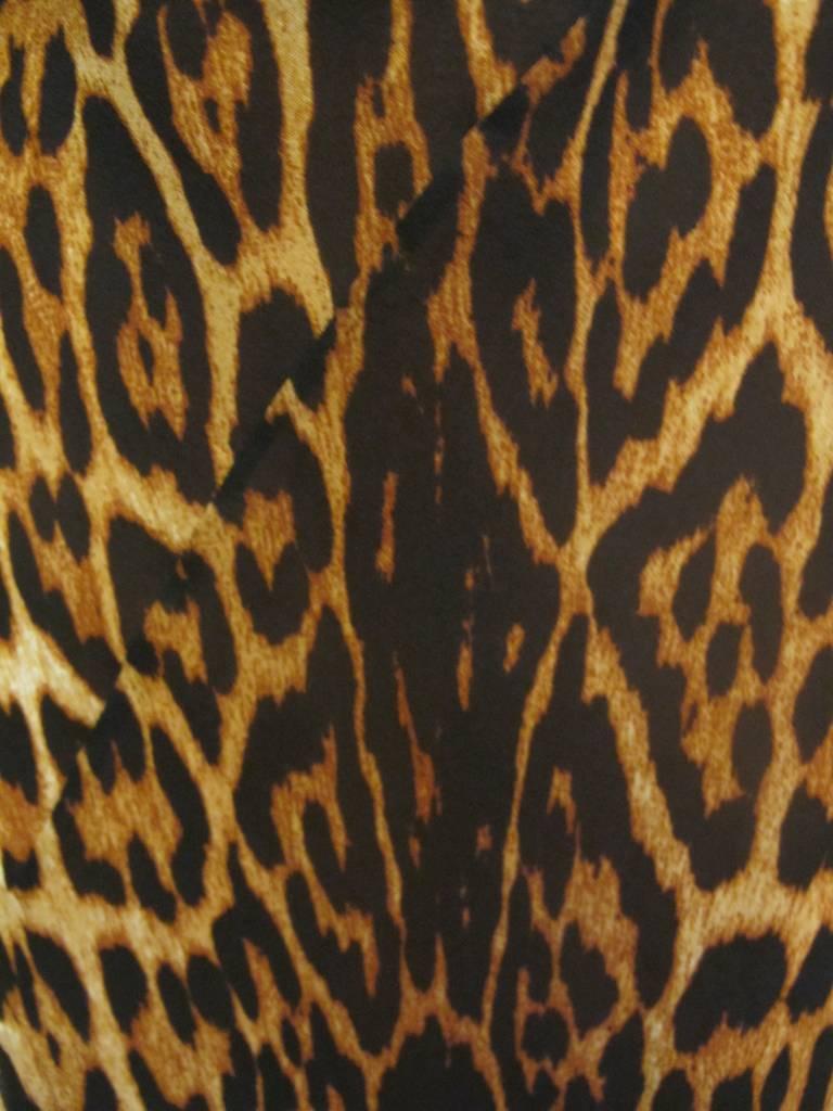 "Christian Dior ""Mitzah"" Winter 2004 Leopard Gown 7"