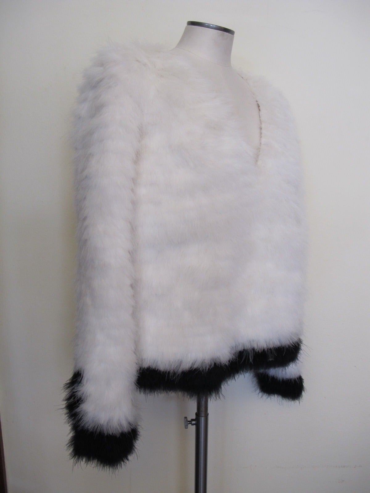 Tom Ford New Luxurious Marabou Jacket 2012 2