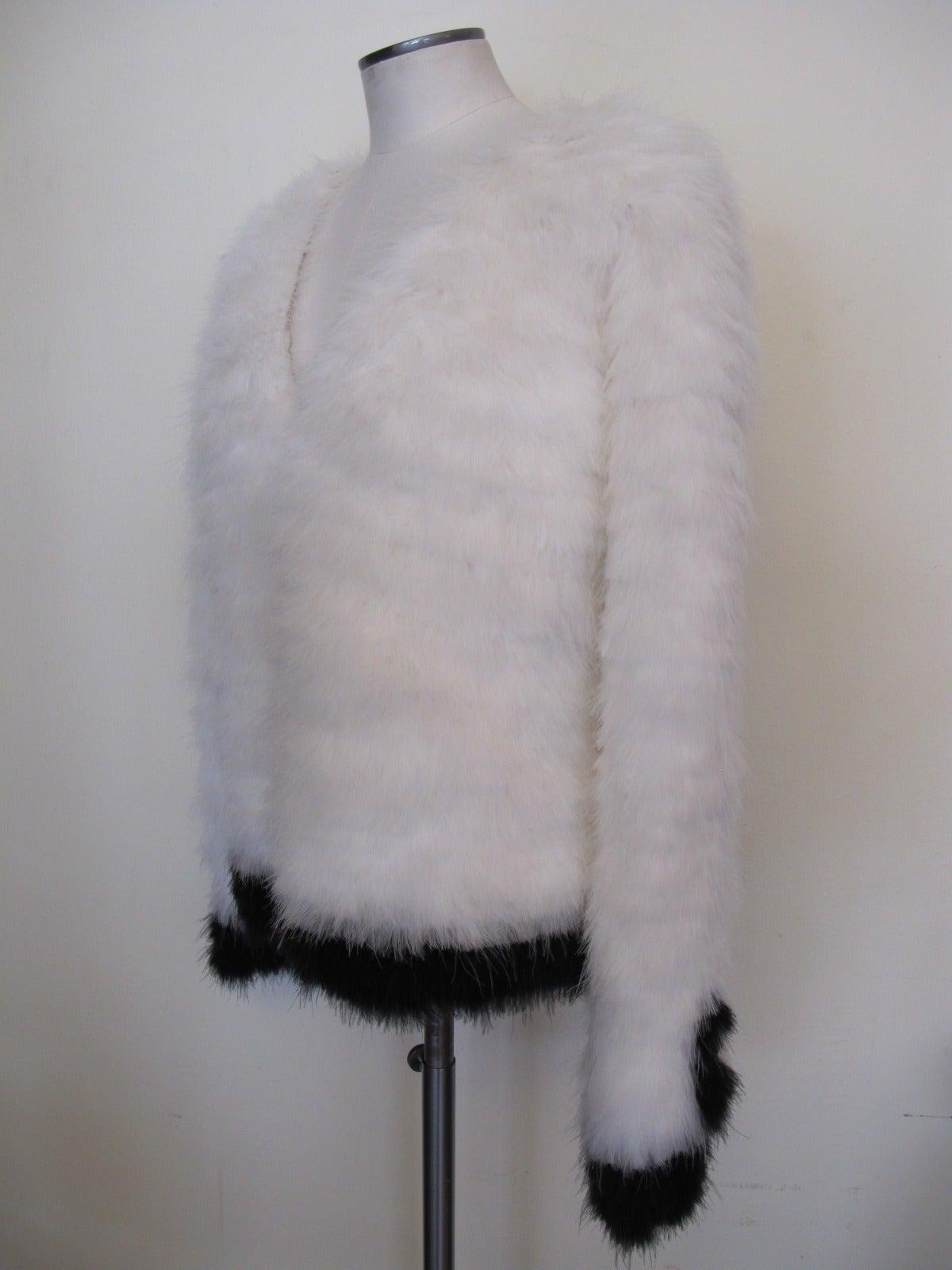 Tom Ford New Luxurious Marabou Jacket 2012 3
