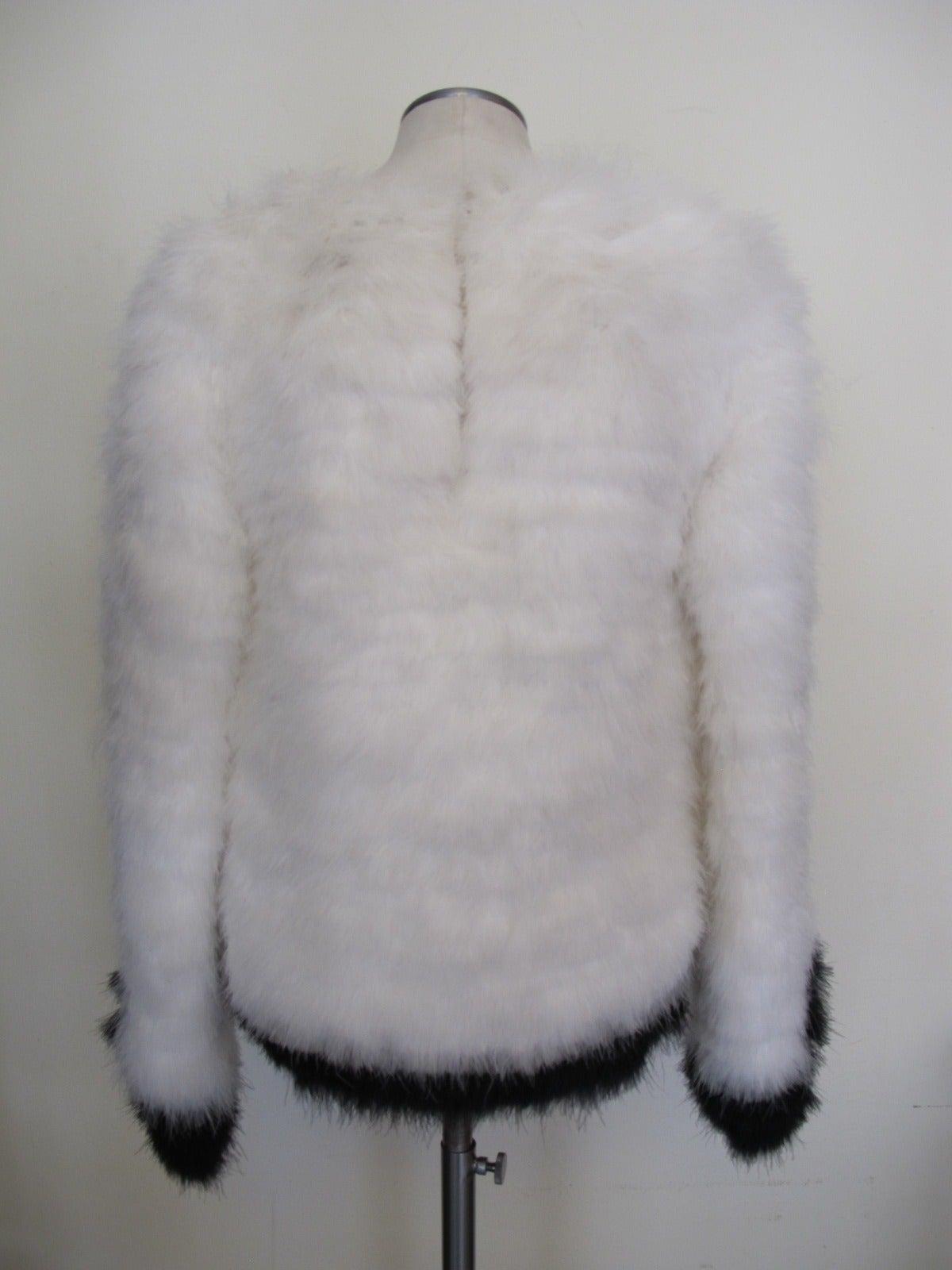 Tom Ford New Luxurious Marabou Jacket 2012 4