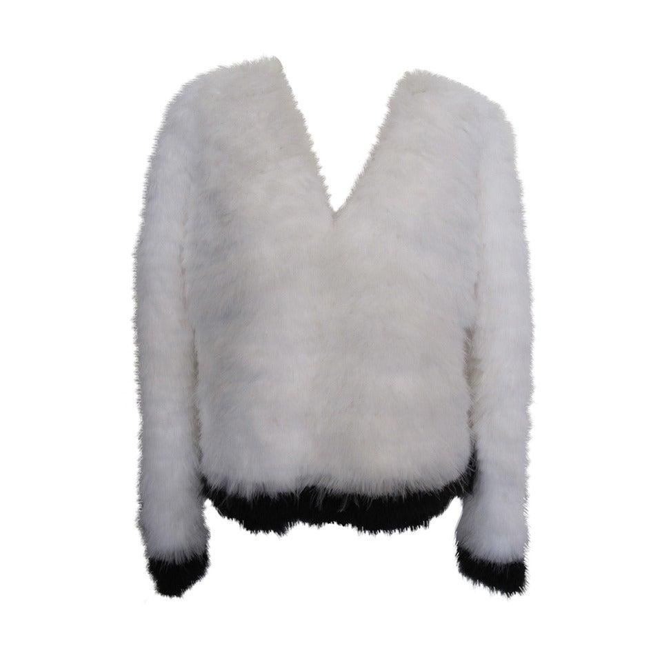 Tom Ford New Luxurious Marabou Jacket 2012 1