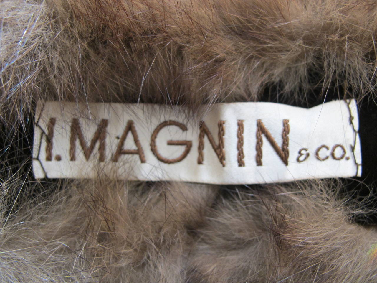 I. Magnin Double Sable Stole 9