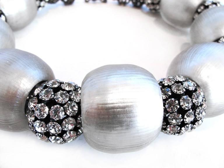Alexis Bittar 2009 Holiday Collection: Gunmetal Lucite Necklace 2