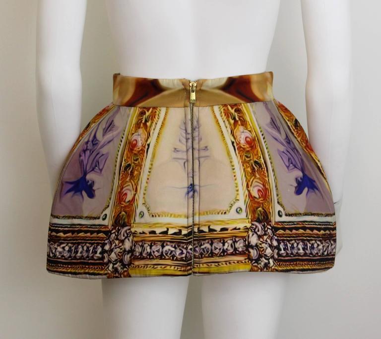 Mary Katrantzou AW 2011 Printed Peplum Skirt 3