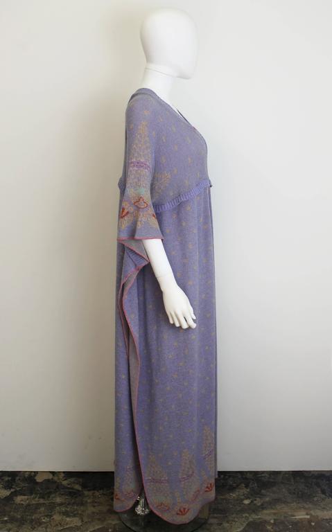 Bill Gibb Kaffe Fassett Knit Coat c.1970 2
