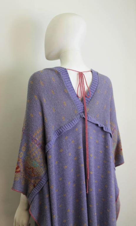 Bill Gibb Kaffe Fassett Knit Coat c.1970 4