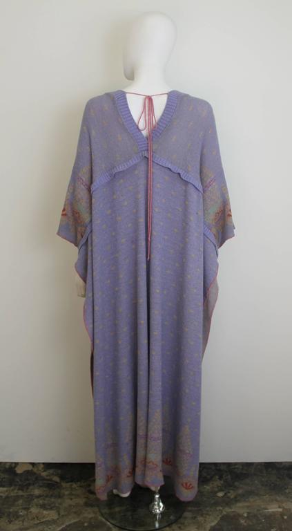 Bill Gibb Kaffe Fassett Knit Coat c.1970 3
