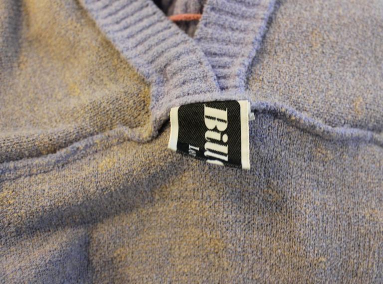 Bill Gibb Kaffe Fassett Knit Coat c.1970 6
