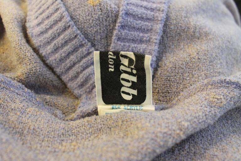 Bill Gibb Kaffe Fassett Knit Coat c.1970 7
